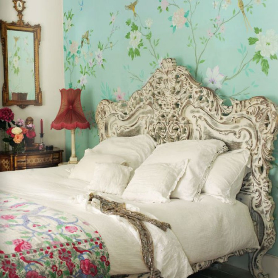 Floral Shabby Chic Bedroom Project Decor Ideas