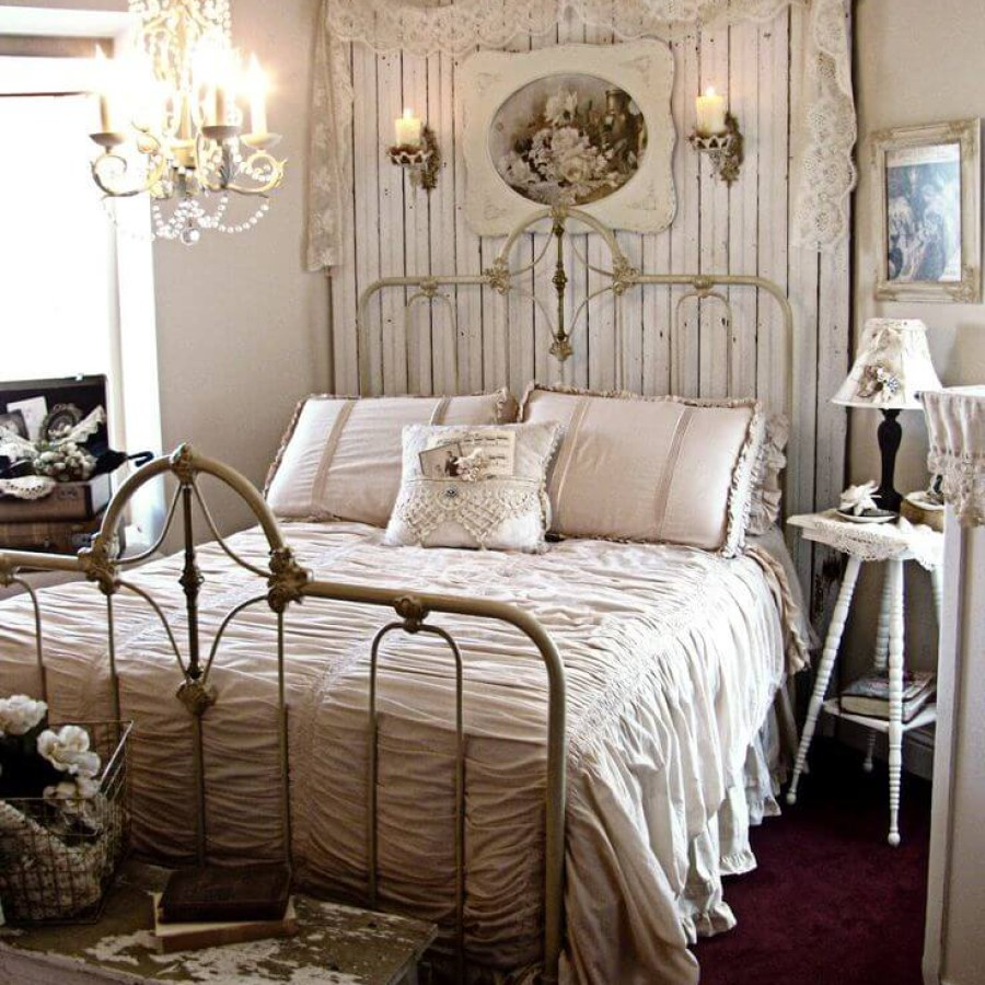 Rustic Shabby Chic Bedroom Project Decor Ideas