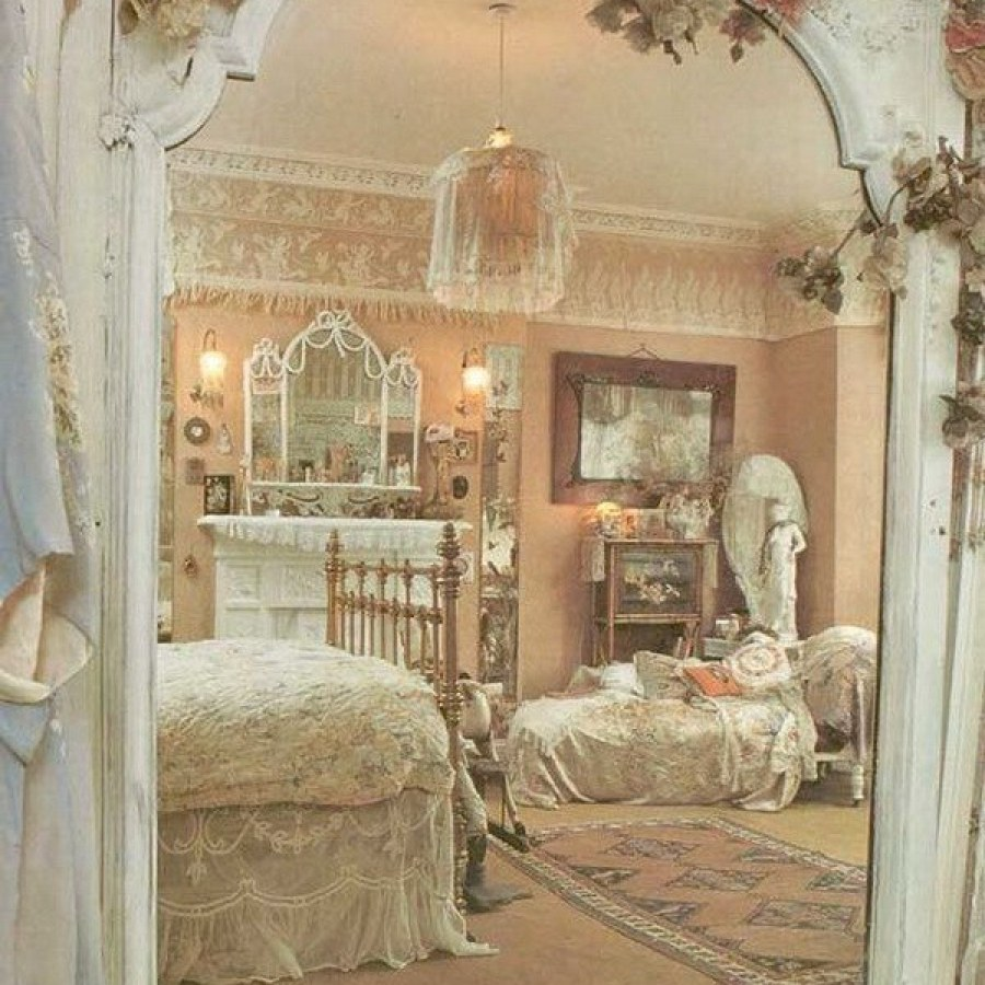 Elegant Shabby Chic Bedroom Project Decor Ideas