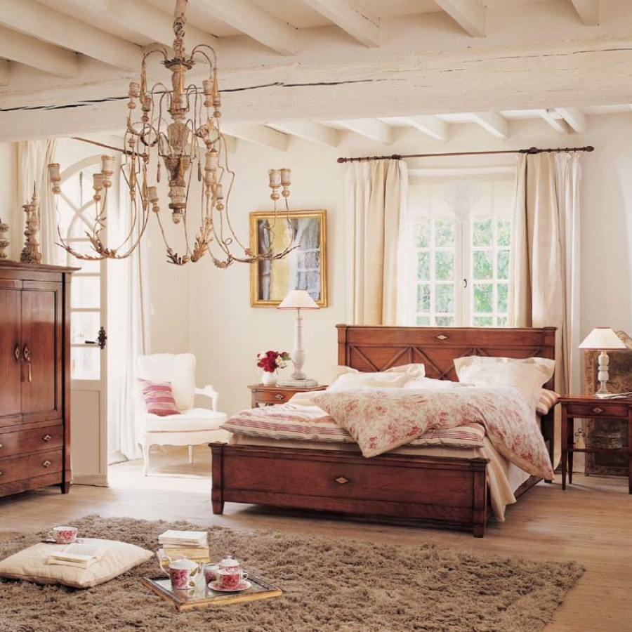 Shabby Chic Bedroom Chandelier Project Decor Ideas