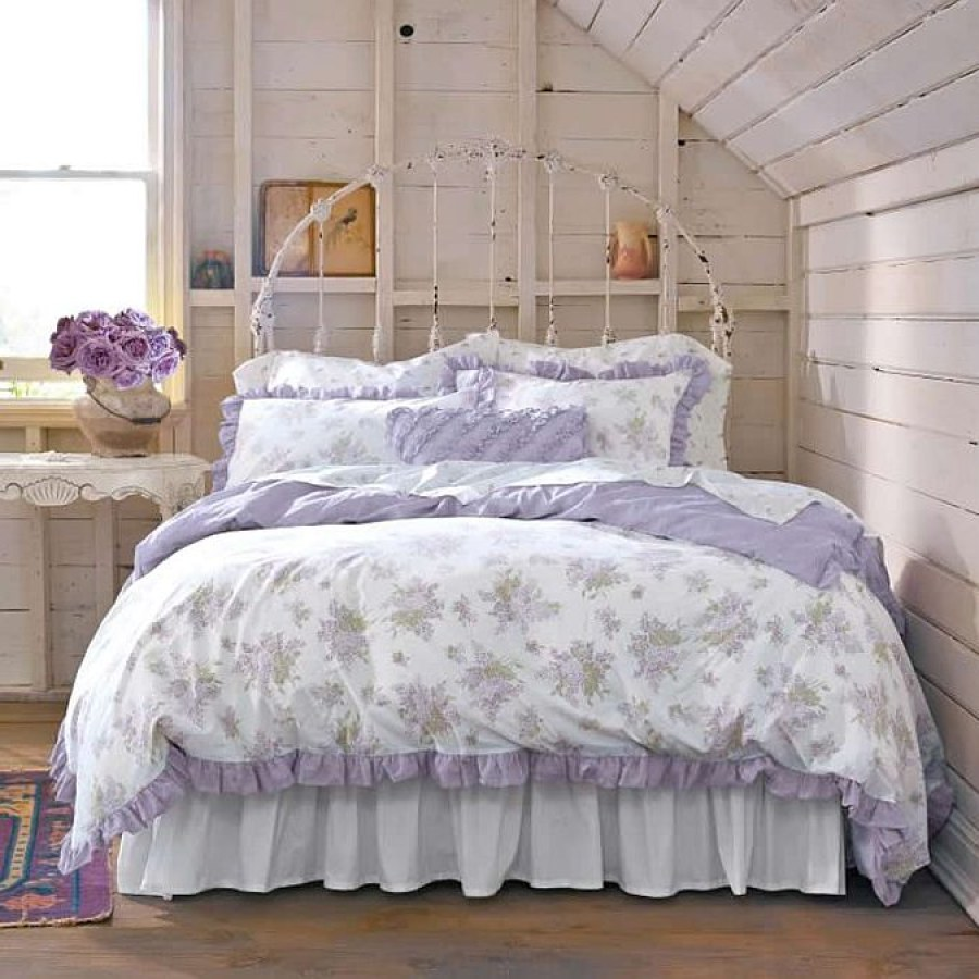 Shabby Chic Bedroom Lavender Project Decor Ideas