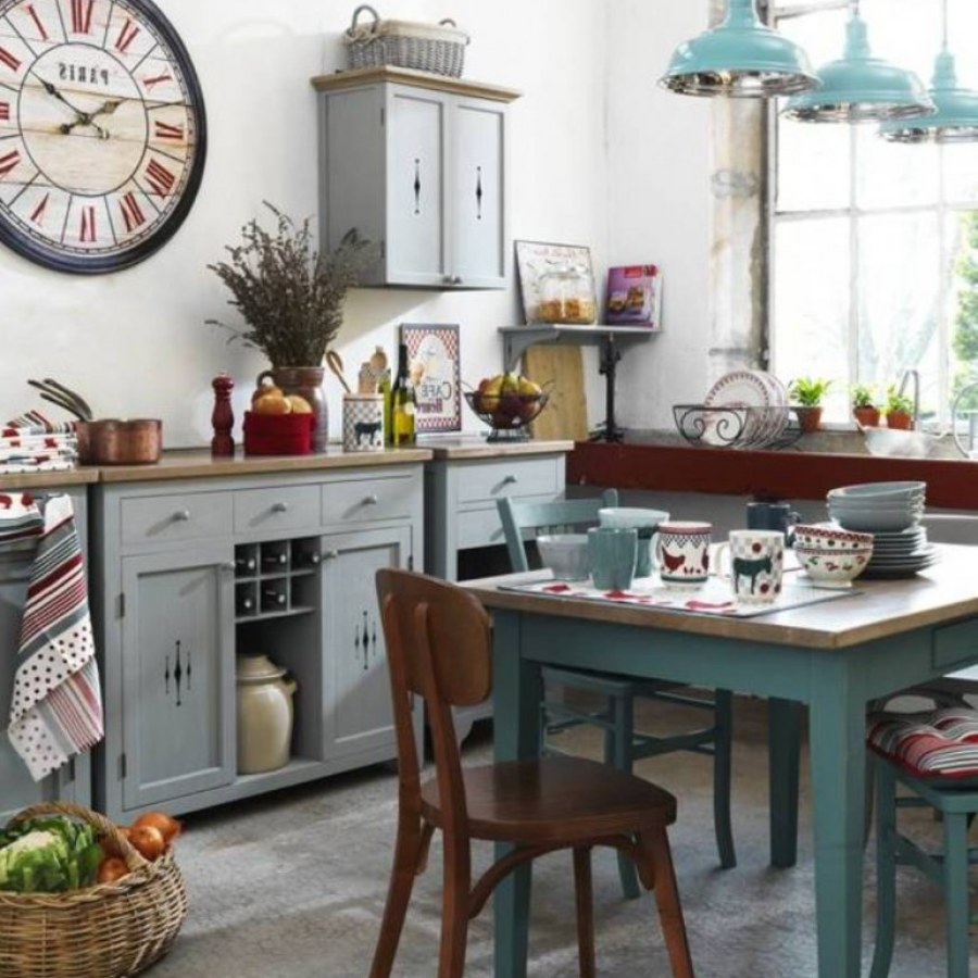 Shabby Cottage Kitchen DIY Decor Ideas