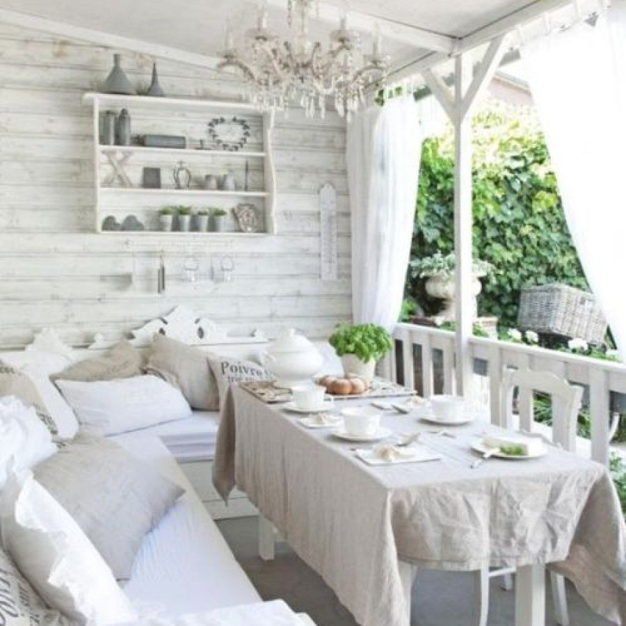 Shabby Chic Outdoors Design Ideas